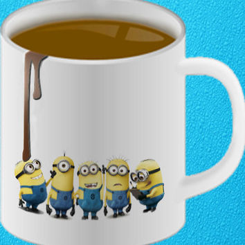 Despicable Me MINION Mug Cup Personalised Christmas Gift amazing mug gift mug heppy coffee.