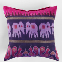 Magical Thinking Silk Sari Pillow