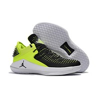Nike Air Jordan 32 XXXII Retro Low Black/Green Sneaker