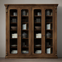 St. James Glass Double Cabinet