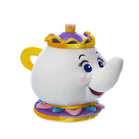 """Disney Store Beauty and the Beast 7"""" Mrs. Potts Small Plush Toy New with Tags"""
