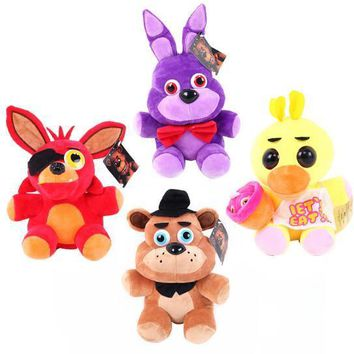 4 Based Styles 15CM Fast Delivery Five Night at Freddy Plush Trolls  Kids Juguetes Figure Plush Puppets Toys Kids Toys