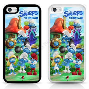 Smurfs The Lost Village Smurfette Case Cover for iPhone Samsung iPod The Smurf | eBay