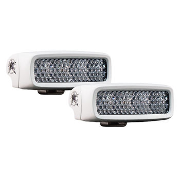 Rigid Industries M-SRQ RGB Diffused - Pair