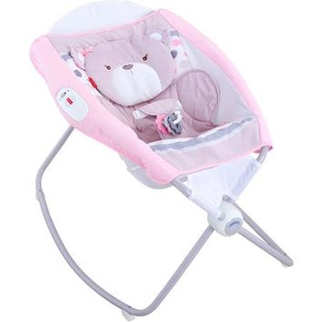 Fisher-Price My Little Snugabear Ballerina Deluxe Newborn Rock 'n Play Sleeper - Walmart.com