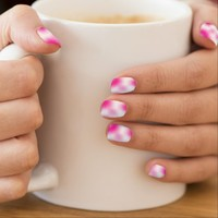 """Pink Sugar"" Abstract Nail Art"