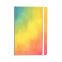 "Fotios Pavlopoulos ""Watercolor Layers"" Rainbow Everything Notebook"