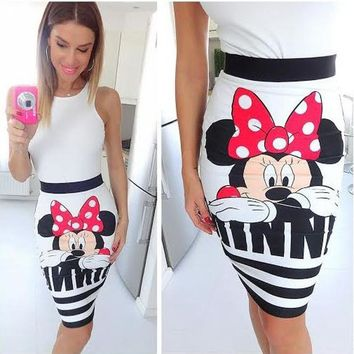 minnie mouse women cartoon character clothes female miki clothing 8939