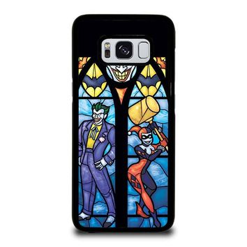 JOKER AND HARLEY QUINN ART Samsung Galaxy S8 Case Cover
