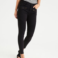 AEO Denim X Hi-Rise Jegging, Rustic Blue