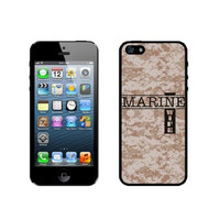 Marine Wife 1 Camo iPhone 5 Case - For iPhone 5/5G - Designer TPU Case Verizon AT&T Sprint