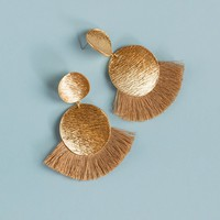 Bella Earrings - Taupe