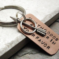 May The Odds Be Ever In Your Favor Key Chain with by riskybeads