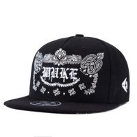 Black Hip-hop Baseball Cap Hat