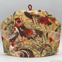 Tea Cozy - Rooster Run|Large
