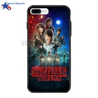 Stranger Things For Iphone X/7plus Fashion Printed Picture PC&TPU Plating Button Cover Stranger Things For Iphone 6/8/6s Plus