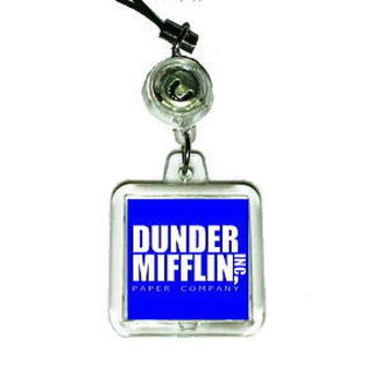 The Office Dunder Mifflin Paper Company Cell Phone Blinking Flashing Charm