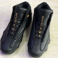 Jordan Pro Strong Black Gold Sneakers - Best Deal Online