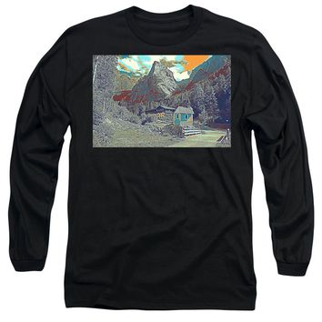 Swiss Alps - Long Sleeve T-Shirt