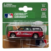Top Dog 1:64 Chevy Suburban - MLB Cincinnati Reds