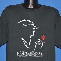 90s Beauty and the Beast Music Broadway t-shirt Extra Large