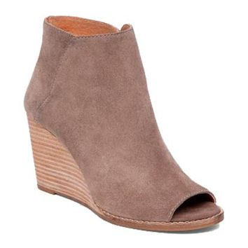 Jezzah Brindle Booties - Lucky Brand