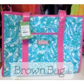 Alpha Delta Pi Lilly Pulitzer Tote Bag - Clothing