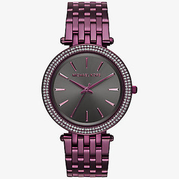Darci Plum-Tone Watch | Michael Kors