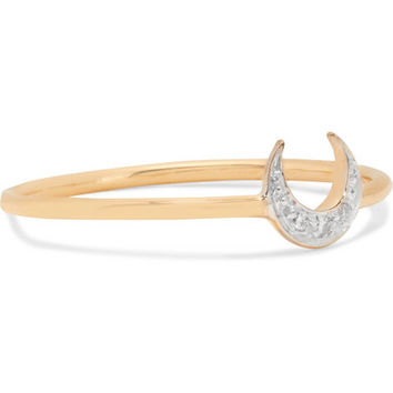 I+I - 14-karat gold diamond ring