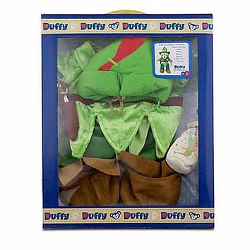 Disney Duffy the Disney Bear Peter Pan Costume 17'' New With Box