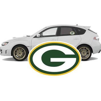 Official Green Bay Packers Car Decal-Free Shipping!