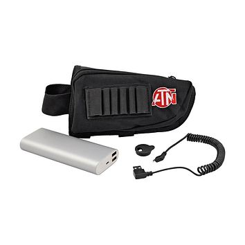 ATN Extended Life Battery Pack 16000 mAh with USP Cable, Cap and Case ACMUBAT160