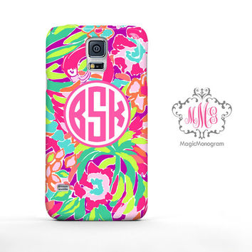 Tropical Lulu Juice Lilly Pulitzer Monogram Samsung Galaxy S6 Case, Galaxy Note 4 Case