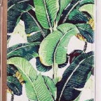 Tropical Bananas & Leaves Cover For iPhone 5 5s, 6, 6 Plus
