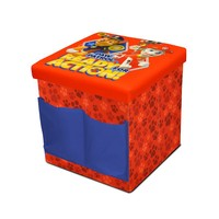Nickelodeon Paw Patrol Sit & Store Folding Ottoman (Red)