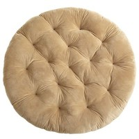 Papasan Cushion - Plush Khaki