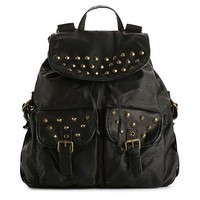 Mix No. 6 Double Pocket Studded Backpack