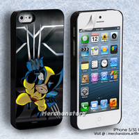 X-Men Wolverine Cartoon iPhone 5 or 5S Case
