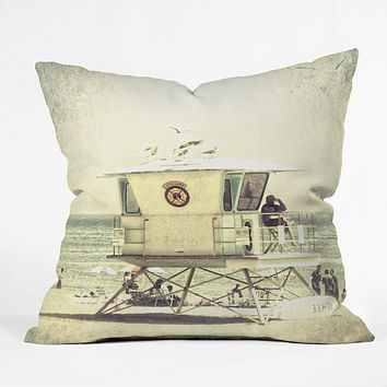 Shannon Clark Santa Cruz Mood Throw Pillow