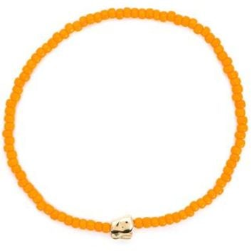 Luis Morais Mini Rabbit Beaded Bracelet - Patron Of The New - Farfetch.com