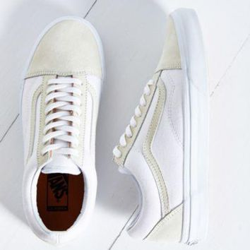 Vans California Old Skool Reissue Sneaker- White W