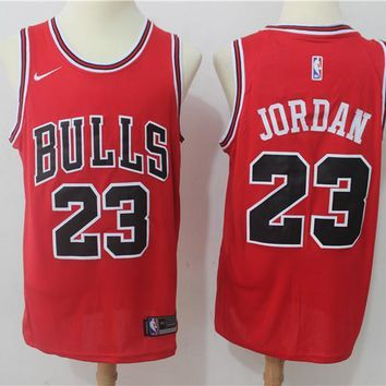 NBA Basketball Swingman Jerseys Chicago Bulls # 23 Michael Jordan Red