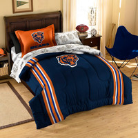 Chicago Bears NFL Bed in a Bag (Contrast Series)(Twin)