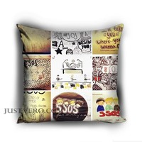 Personalized 5SOS artwork Pillow case - Justvero