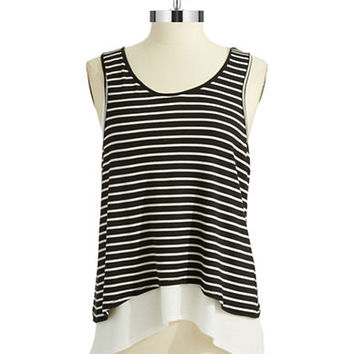Dex Layered Striped Tank