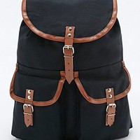 Urban Renewal Vintage Surplus Military Backpack in Burgundy - Urban Outfitters
