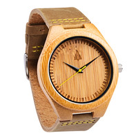 Wooden Watch // Frank Gold