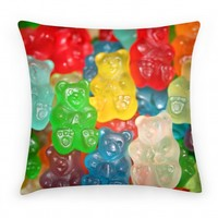 Gummy Bear Pillow
