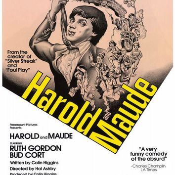Harold and Maude 27x40 Movie Poster (1979)