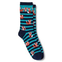 Legale Casual Socks - Navy Fox (One Size Fits Most)
